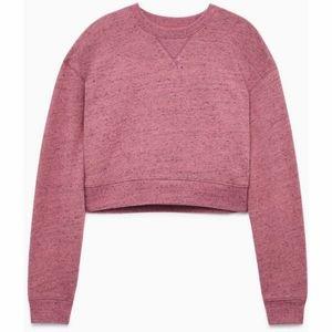 Wilfred Free crop crew sweater.